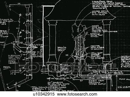 Stock image of blueprint cad technical viva blueprints lay out blueprint cad technical viva blueprints lay out plan design blueprints malvernweather Images