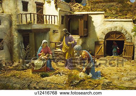 christmas motifs christmas motifs christmas decorations ornaments nativity scene stable at bethlehem