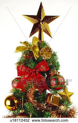 Christmas Tree Tinsel.Christmas Motifs Christmas Motifs Christmas Decorations Ornaments Christmas Tree Tinsel Stock Image
