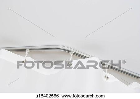Hanging Barrier Curtain Bathroom Rod Room