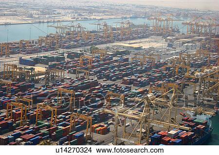 d31dd1a87c0 Dubai, freezone, ελεύθερος, ζώνη, jebel, λιμάνι Αποθήκη Φωτογραφίας ...