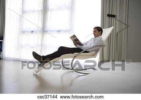 coleccin de foto lectura hombre en silln reclinable buenos aires argentina - Sillon Lectura