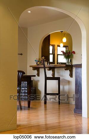 Arco A Cocina Barra Coleccion De Fotografia Lop05006 Fotosearch