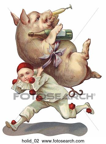 clip art humorous victorian new year illustration fotosearch search clipart illustration posters