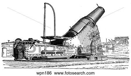 Breech-Loading 12-Inch Mortar (Howitzer), American Civil War