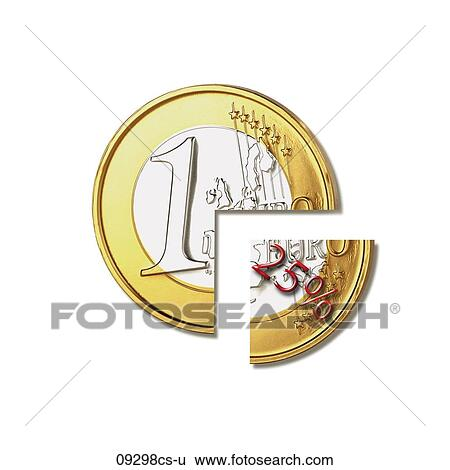 stock images of euro coin withholding tax 09298cs u search stock