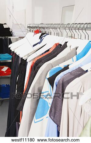 Stock Photography   Fashion Store Interior, Wide Range Of Dresses.  Fotosearch   Search Stock